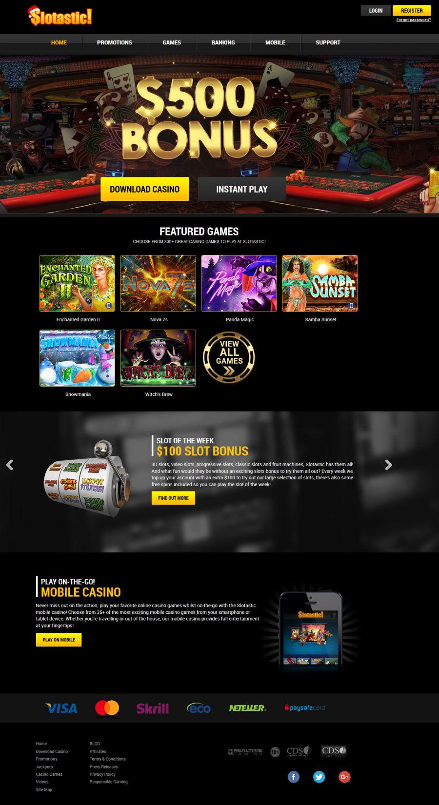 Slotastic Casino Instant Play